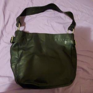 GAP leather HOBO shoulder BAG
